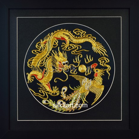 .         Home  Traditional and Feng Shui  Golden Dragon and Pheonix (Small)   Golden Dragon and Pheonix (Medium)