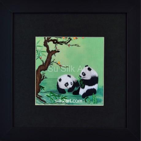 A couple of Panda Bears