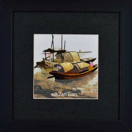 Sampan Boats-2 in Oriental Venice