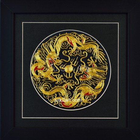 Golden Double Dragons